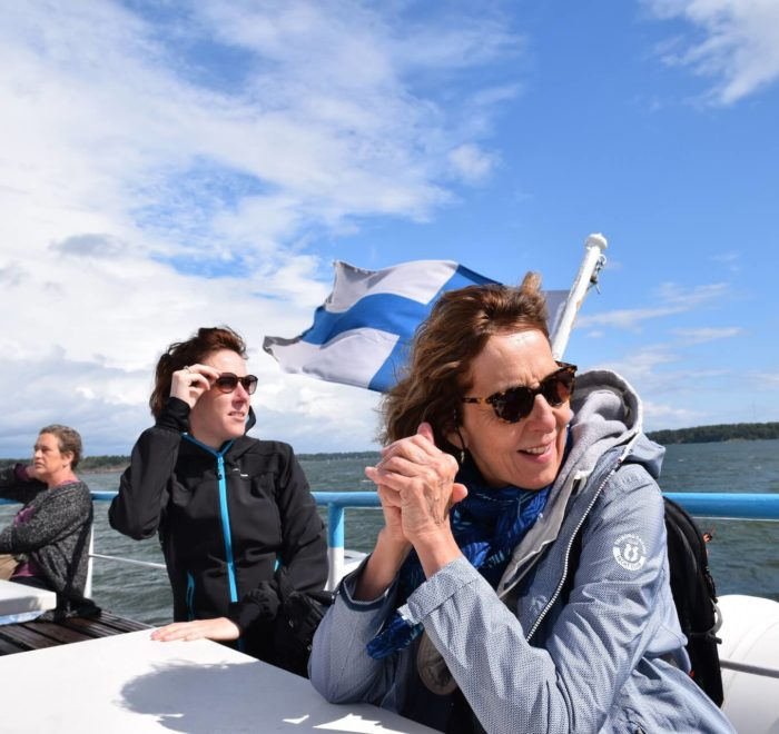 Traversée vers l'île fortifiée de Suomenlinna (Helsinki)