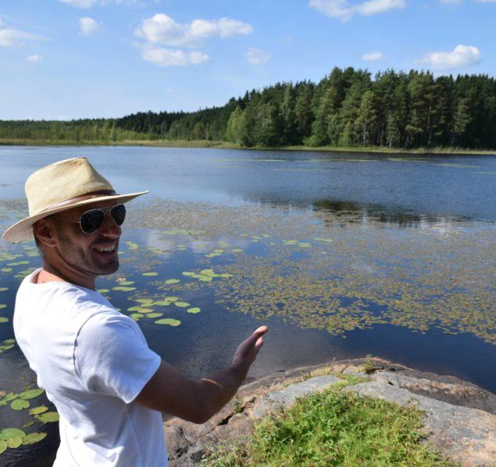 De magnifiques lacs