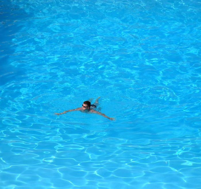 Petite séance de piscine pour Stephan
