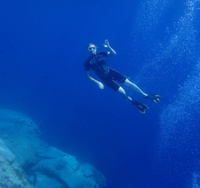 Plongée au spot de Mantili   © Dikelas Dive Center