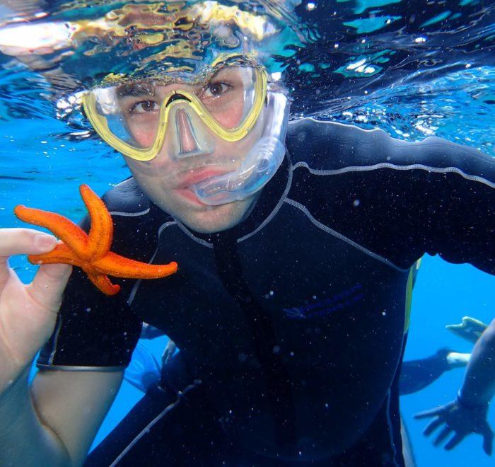 Nicolas, l'homme-poisson   © Dikelas Dive Center