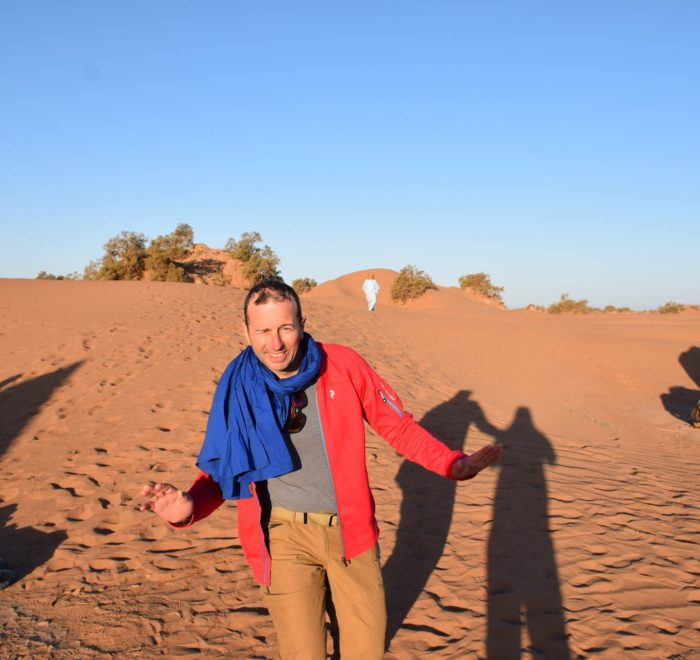 Réveil saharien