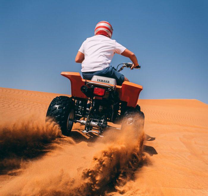 Aventure en quad dans le désert du Namib