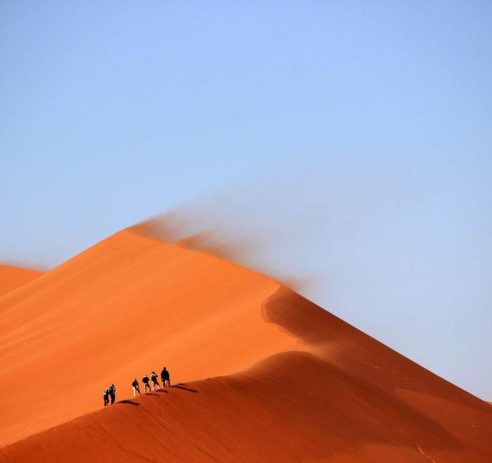 A l'assaut des dunes de Sossusvlei