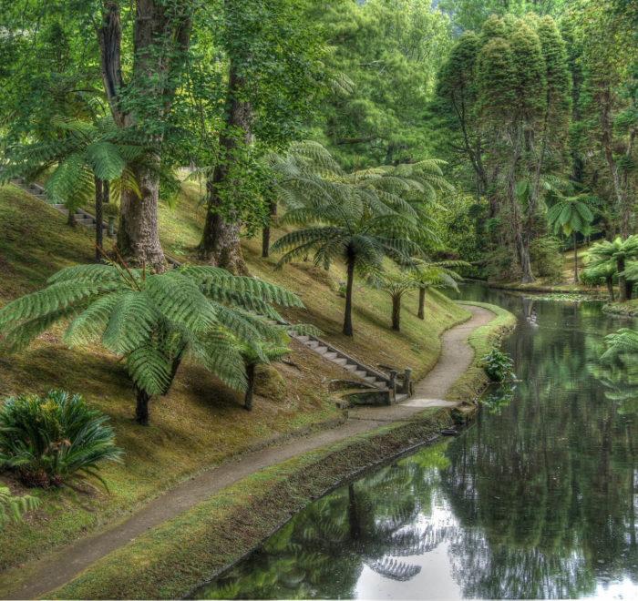 Le magnifique jardin botanique du Terra Nostra | © CC BY-SA 2.0 putneymark @ flickr