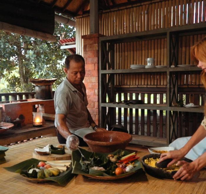 Cours de cuisine   © Taman Sari