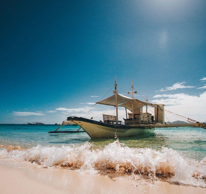 Le Banca, embarcation traditionnelle des Philippines