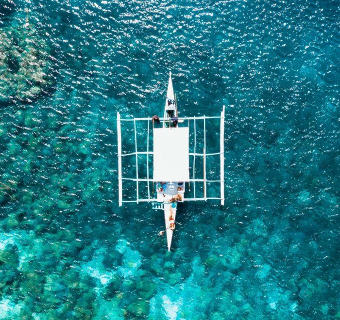 Cabotage de plages en lagons