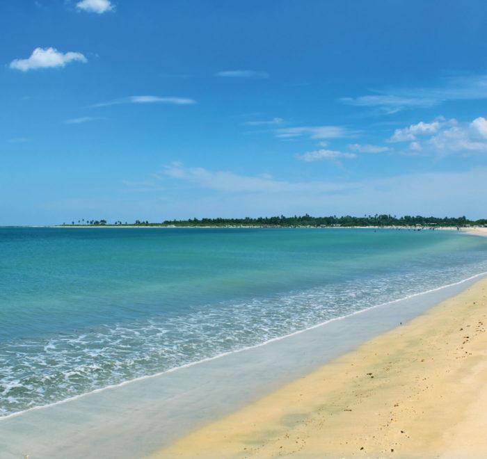 Les plages de Passikudah