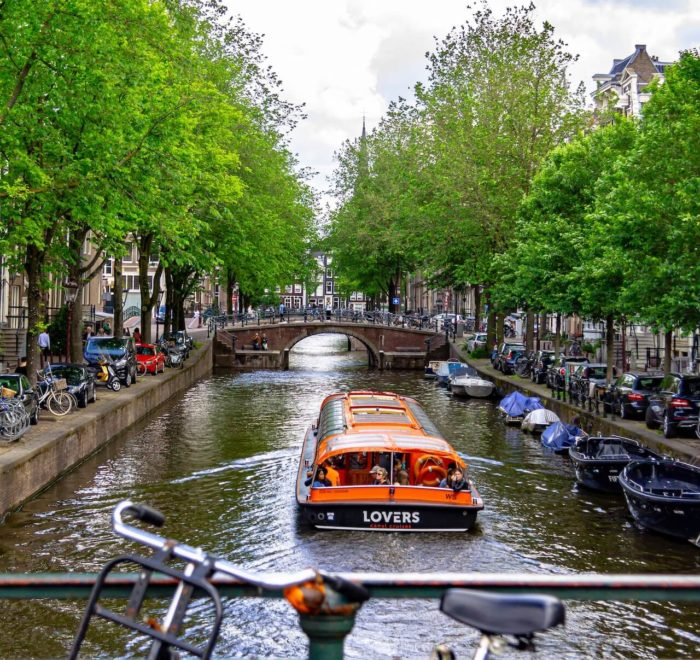 Croisière sur les canaux d'Amsterdam