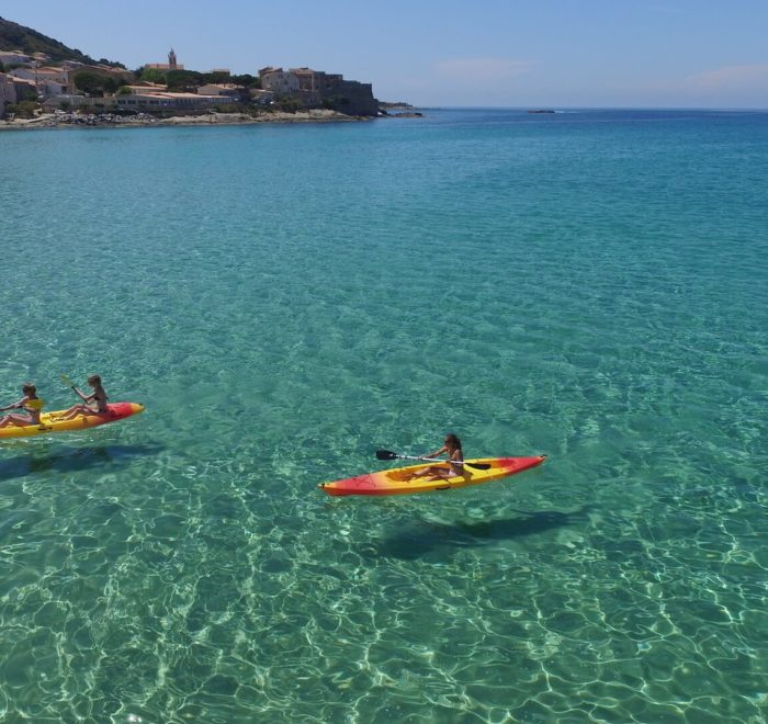 Activité Kayak | © Algajola Sports et Nature