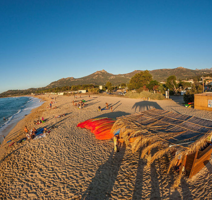 La plage d'Algajola | © Algajola Sports et Nature