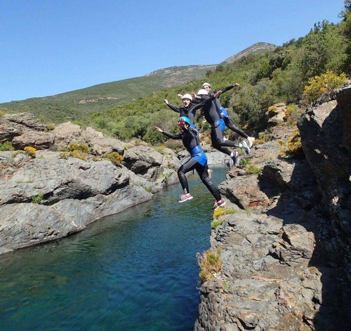 Activité Canyoning au Fango | © Balagne Montagne Aventure