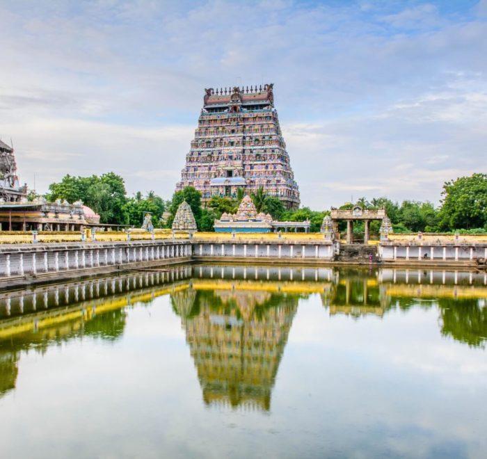 Le temple Nataraja de Chidambaram