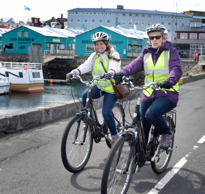 Visite de Reykjavik à vélo | © Iceland Escape