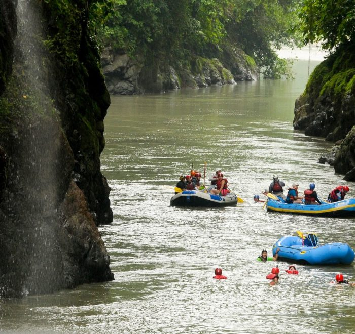 Rafting sur le Rio Pacuare   © Costa Rica Tourism Board
