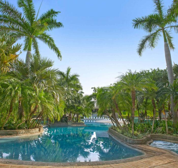 L'une des 4 piscines du resort   © Tamarindo Diria Beach Resort