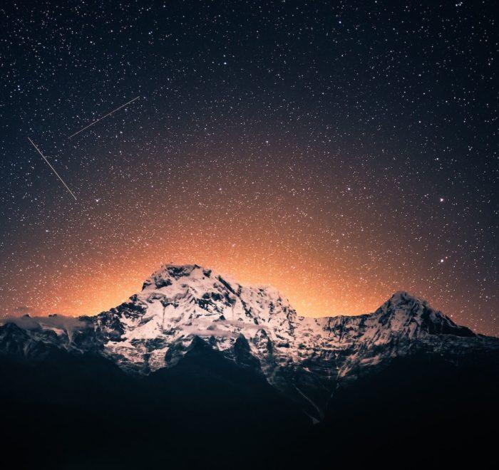 Le spectacle extraordinaire de l'Himalaya