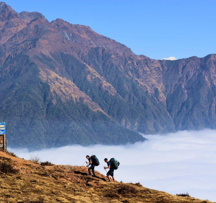 Ascension jusqu'à 3350m d'altitude