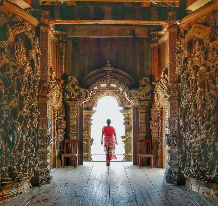 Découverte de temples bouddhistes