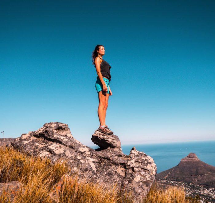 Ascension de Table Mountain