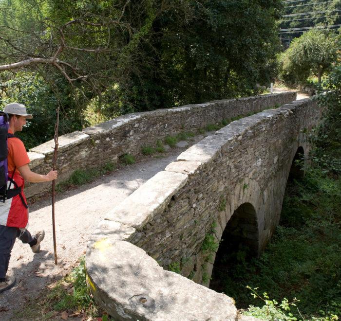 Début de randonnée à Sarria | © Turismo de Galicia