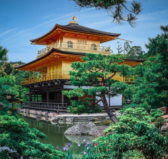 Le Temple d'Or (Kyoto)