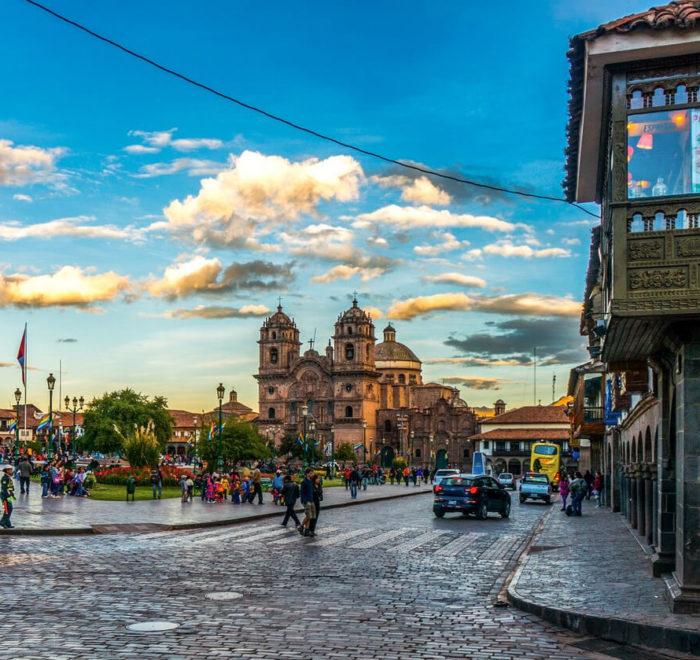 Cusco, la Plaza de Armas