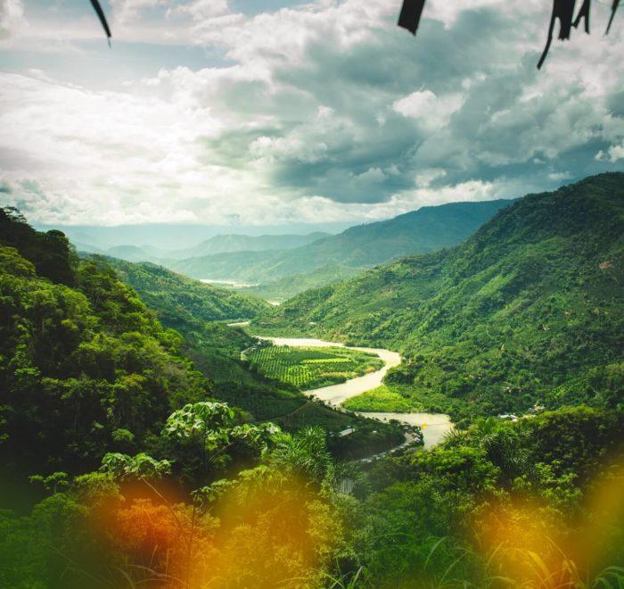 Randonnée dans les paysages andins