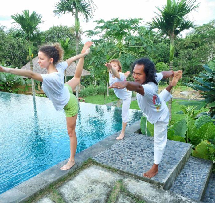 Séances de yoga...   © Taman Sari