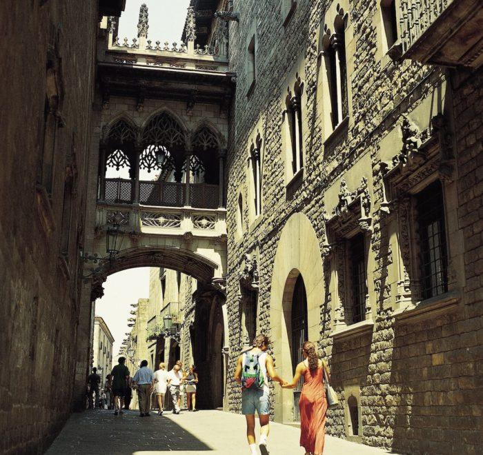 ...et gothique | © Turisme de Barcelona