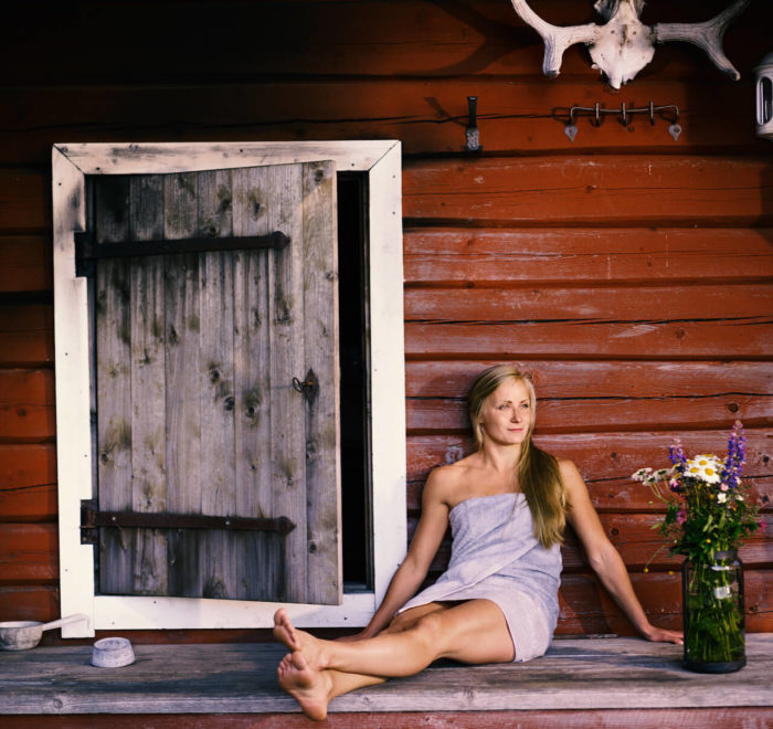 Les bienfaits du sauna © Kari Ylitalo, VisitFinland