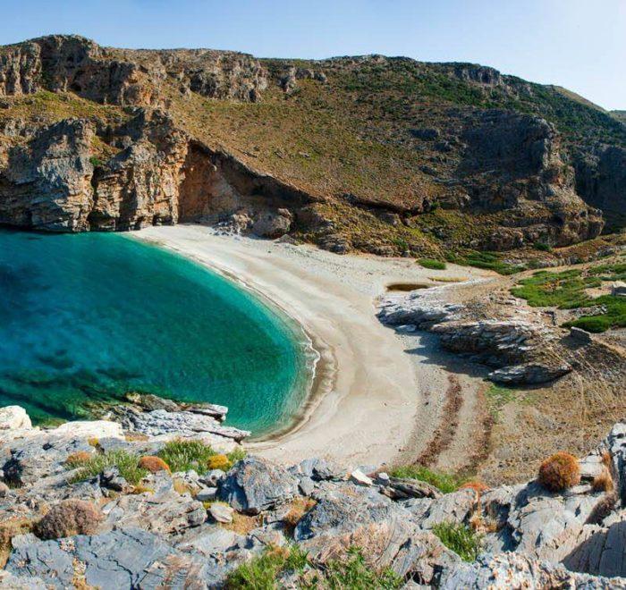 La plage d'Archamboli