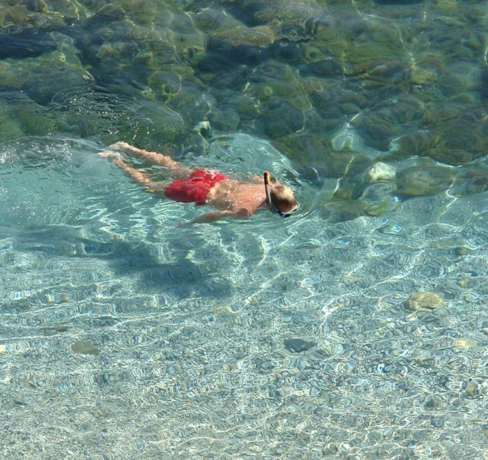 Plongée dans la mer Egée