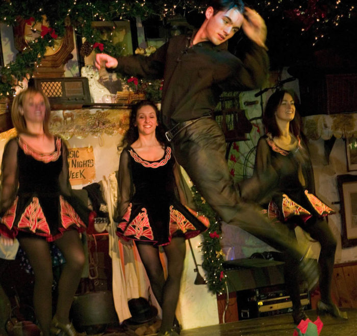 Démonstration de danse traditionnelle irlandaise   © Failte Ireland