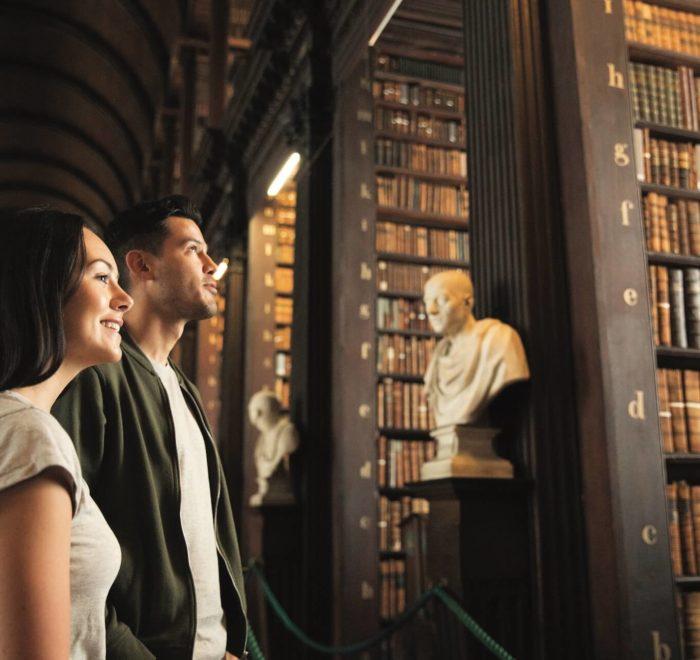 Visite de Trinity College, Dublin   © Tourism Ireland, James Bowden