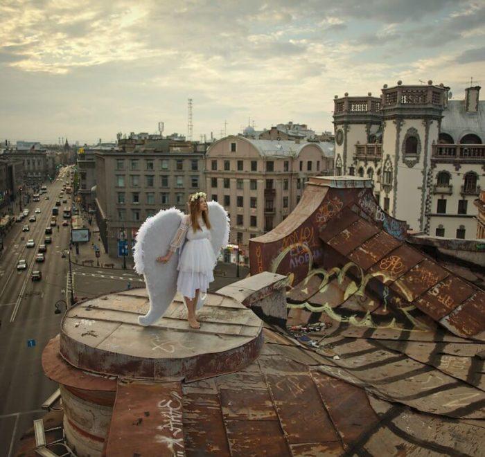 Visite des toits de Saint-Pétersbourg !