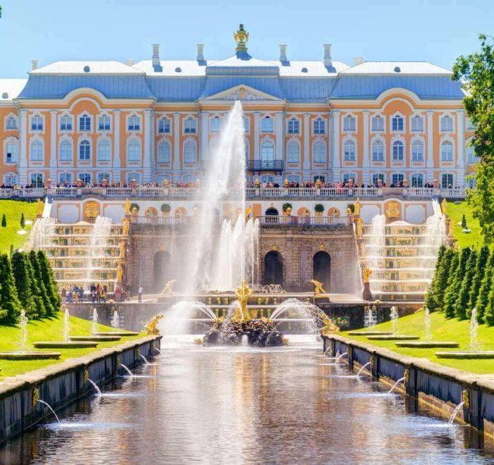 """Peterhof, le """"Versailles russe"""""""