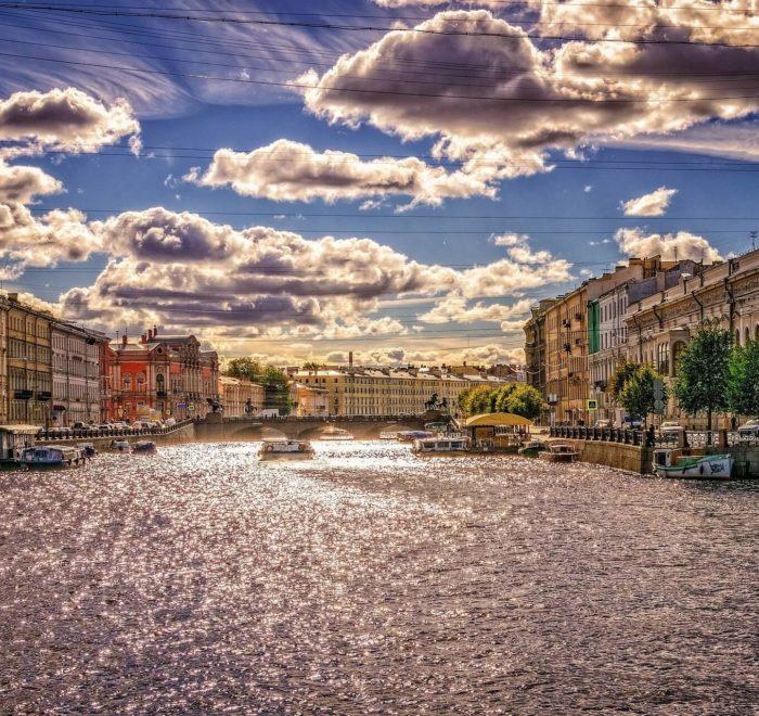 Echappée romantique à Saint-Petersbourg