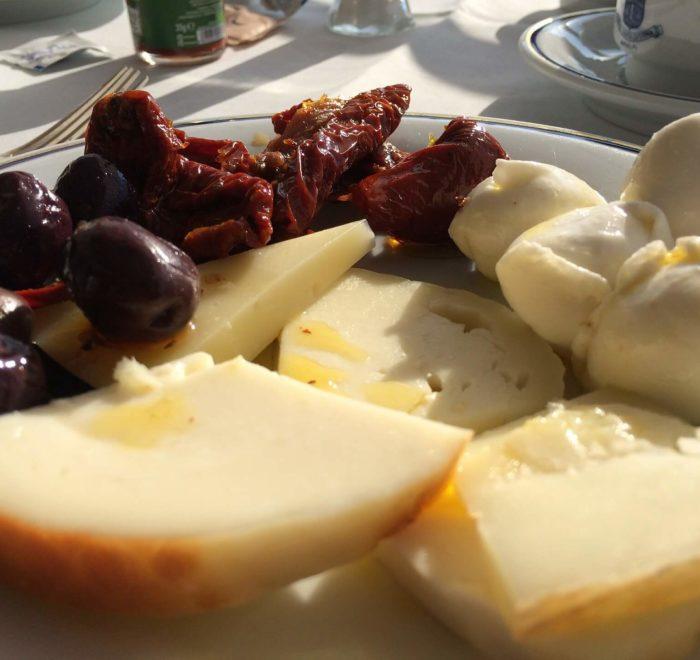 Démonstration de fabrication de fromages