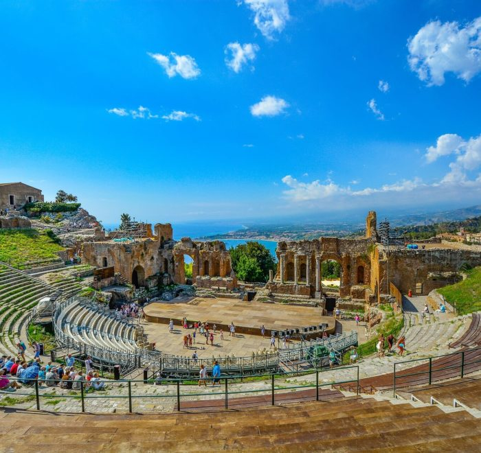 Taormina, Théâtre grec